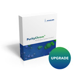 Puritychrom upgrade: Extends the Basic License to an unlimited number of controllable devices and 8 data channels, adds autosampler support