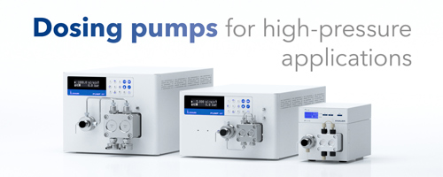 Learn more about KNAUER high pressure dosing pumps